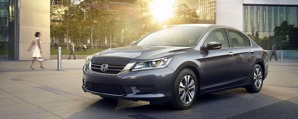 2014 Honda Accord Parked