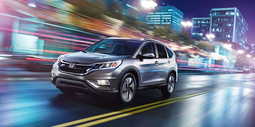 2015 Honda CR-V Driving
