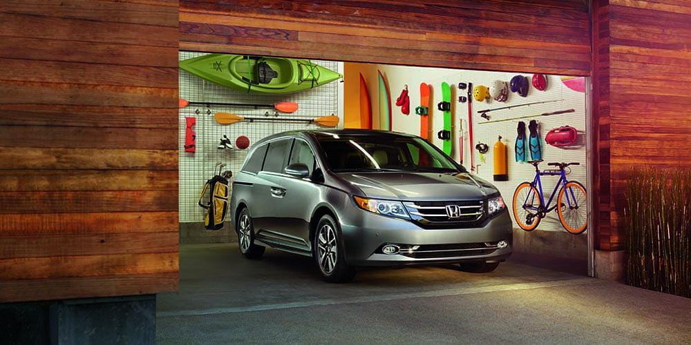 2016 Honda Odyssey In Garage