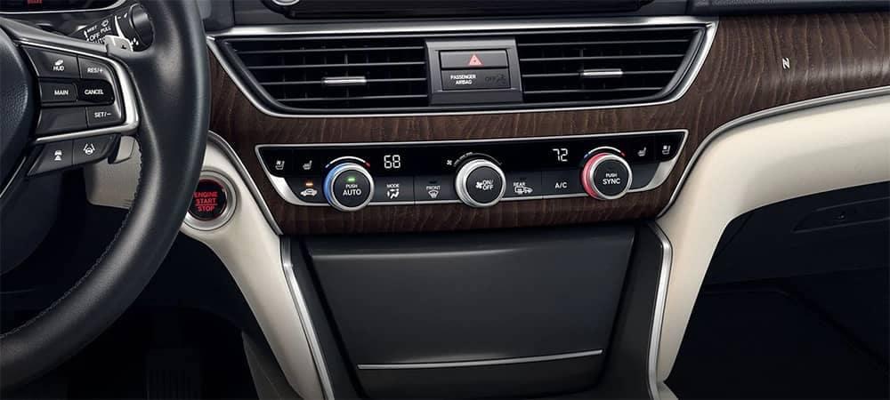 2019 Honda Accord Climate Control