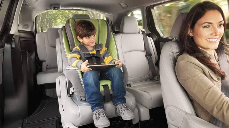2019 Honda Odyssey Interior Seating and Restraints