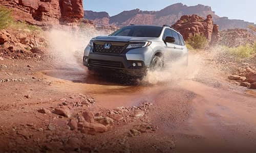 2019 Honda Passport Off-Roading