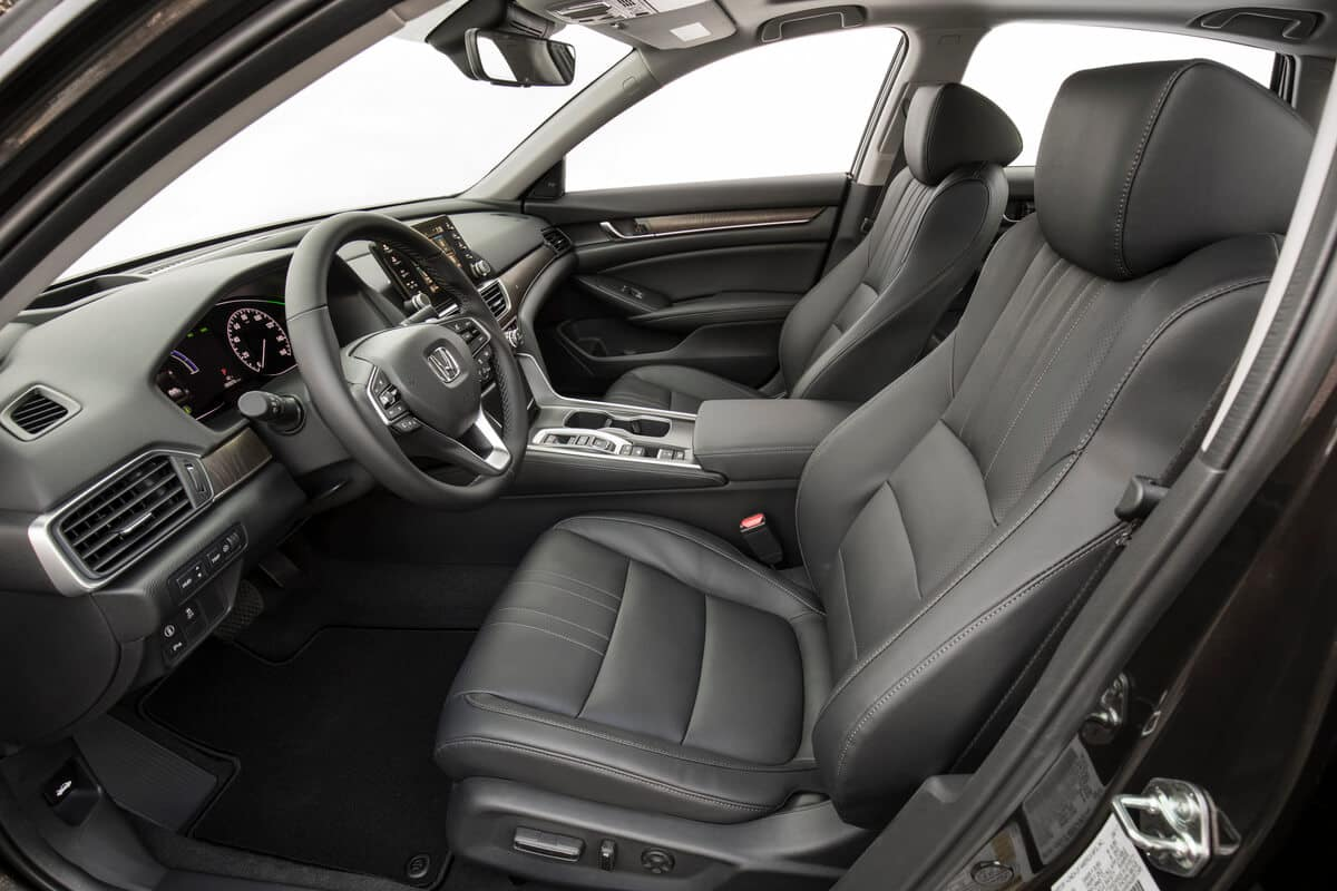 Accord Hybrid front seats