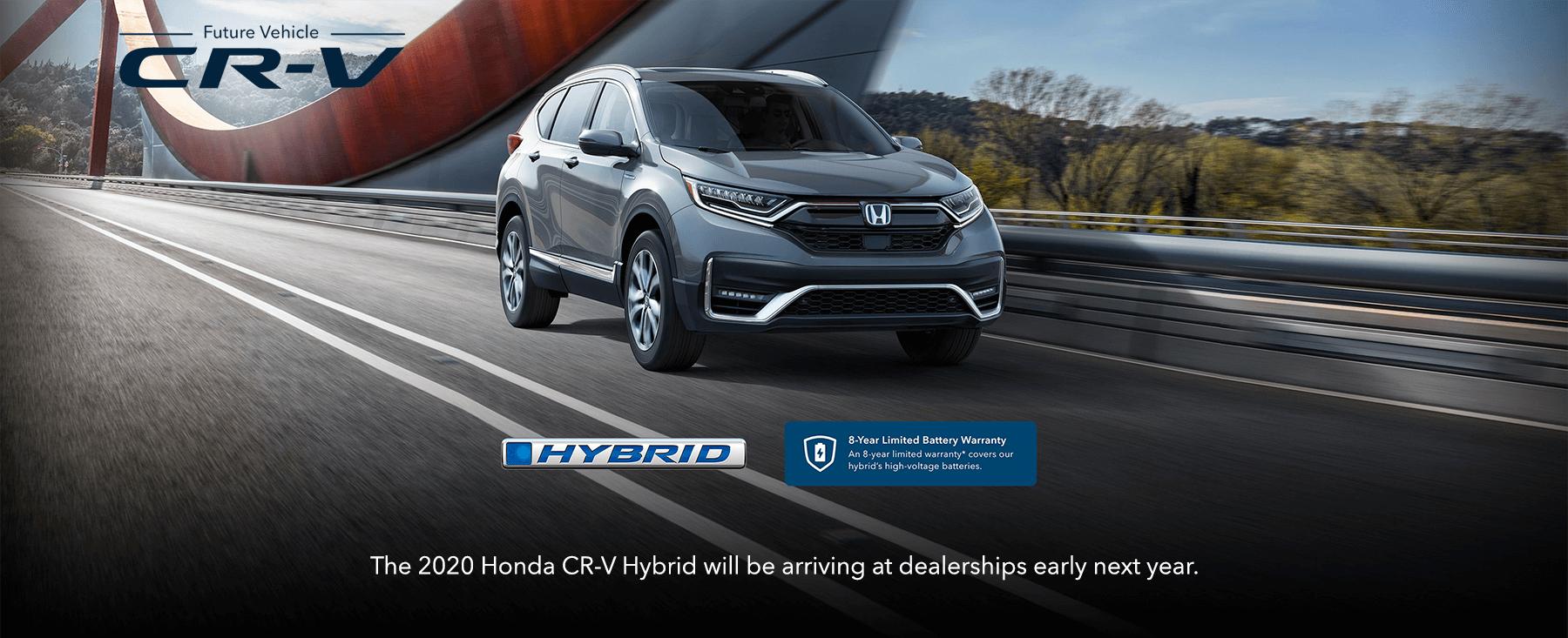 2020 Honda CR-V Hybrid Footer Image