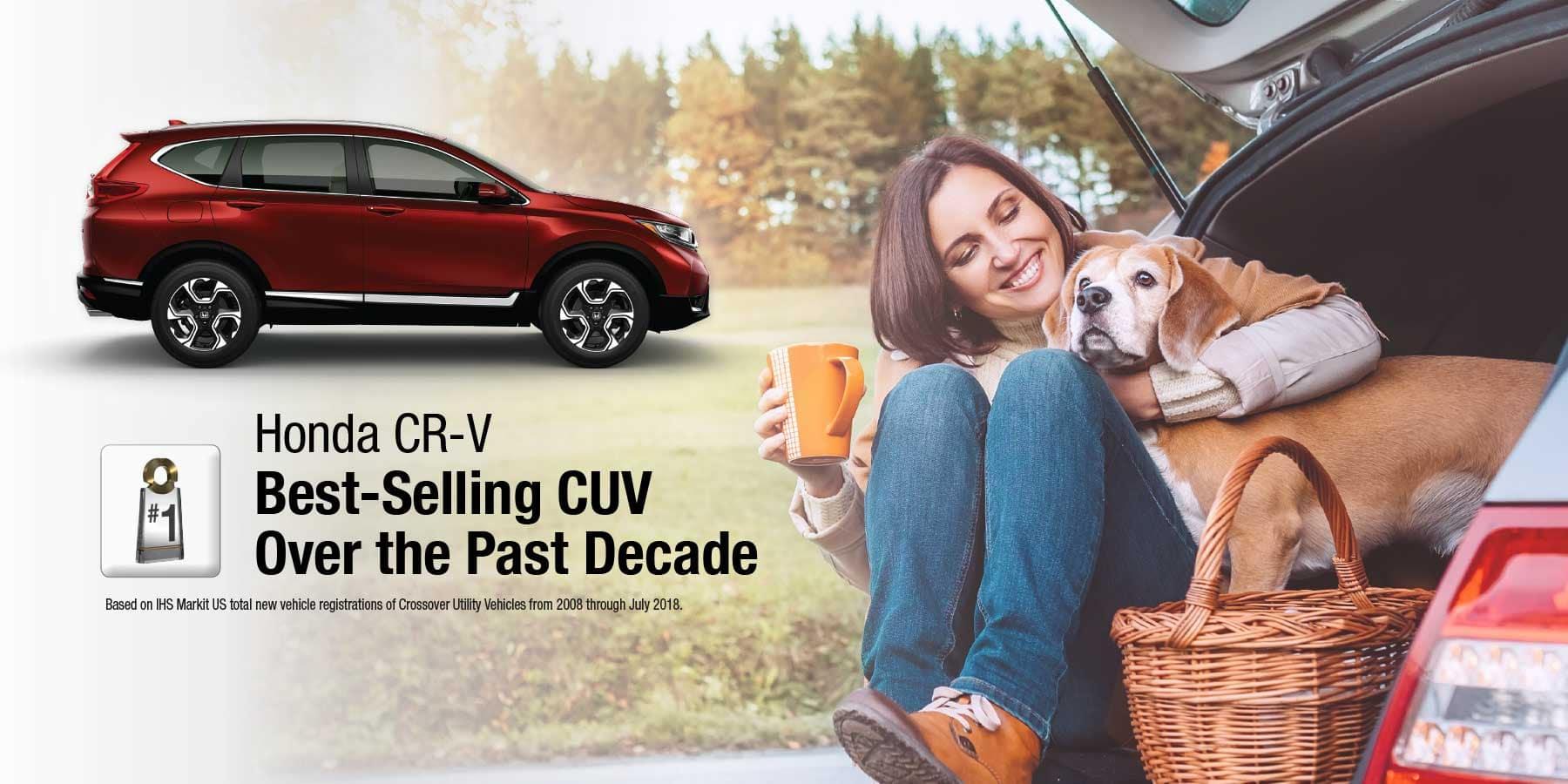 Honda CR-V Best-Selling CUV HP Slide