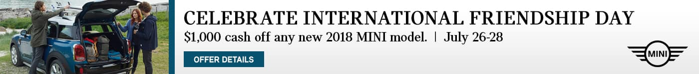 MINI Celebrate International Friendship Day
