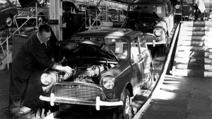 MINI car assembly line
