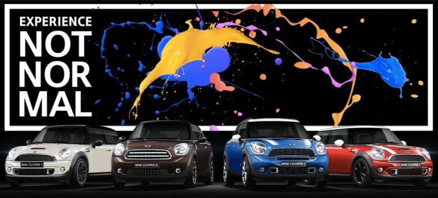 Choose MINI cars
