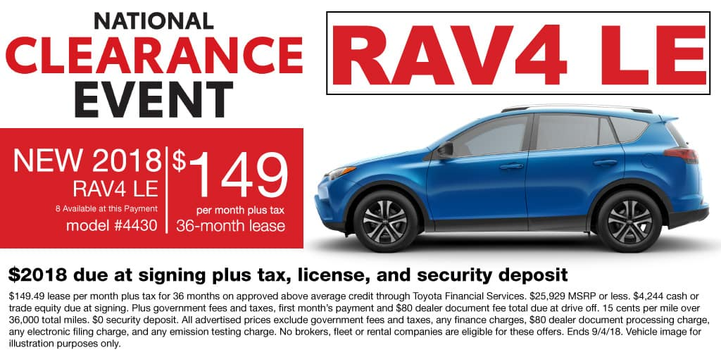 Labor Day Clearance Event At Mossy Toyota San Diego