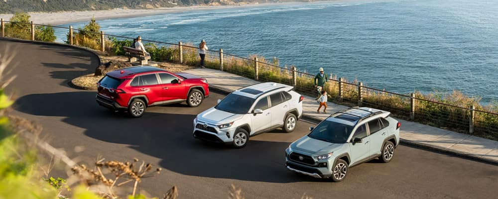 What Are The 2019 Toyota Rav4 Trim Levels Rav4 Standard