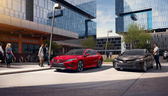 2019 Toyota Camry Parked Outdoors