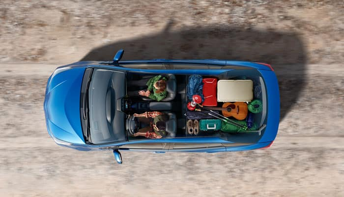 2019 Toyota Prius Cargo Space