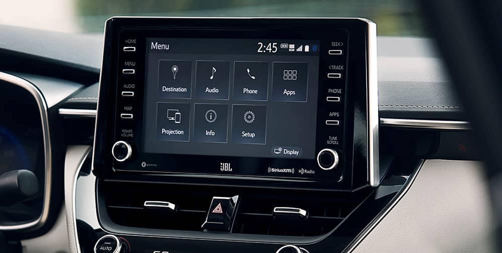 2020 Toyota Corolla Touchscreen