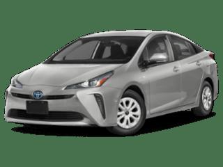 2019 Toyota Prius angled