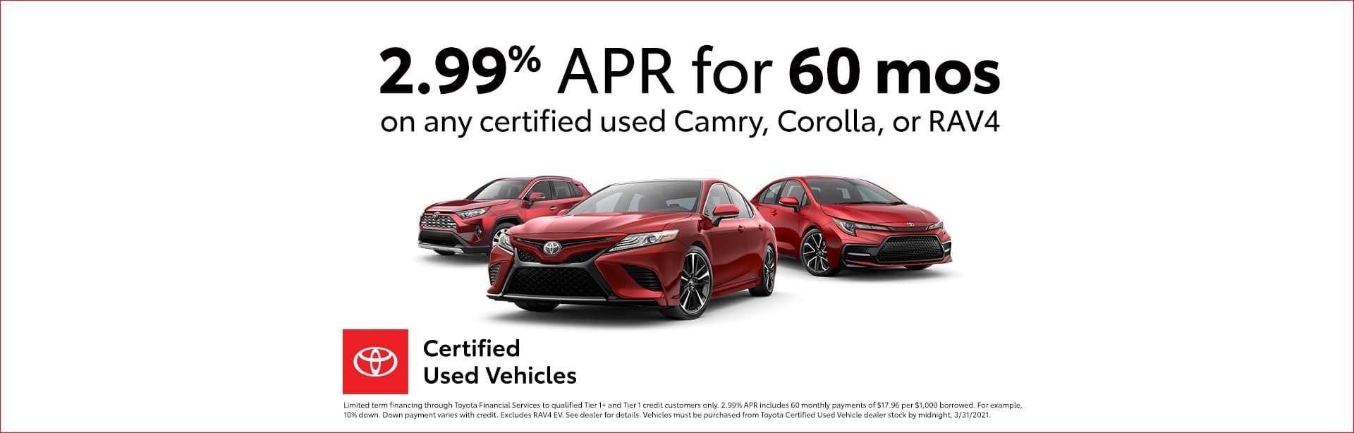 Toyota, Camry, Corolla, RAV4, TCUV