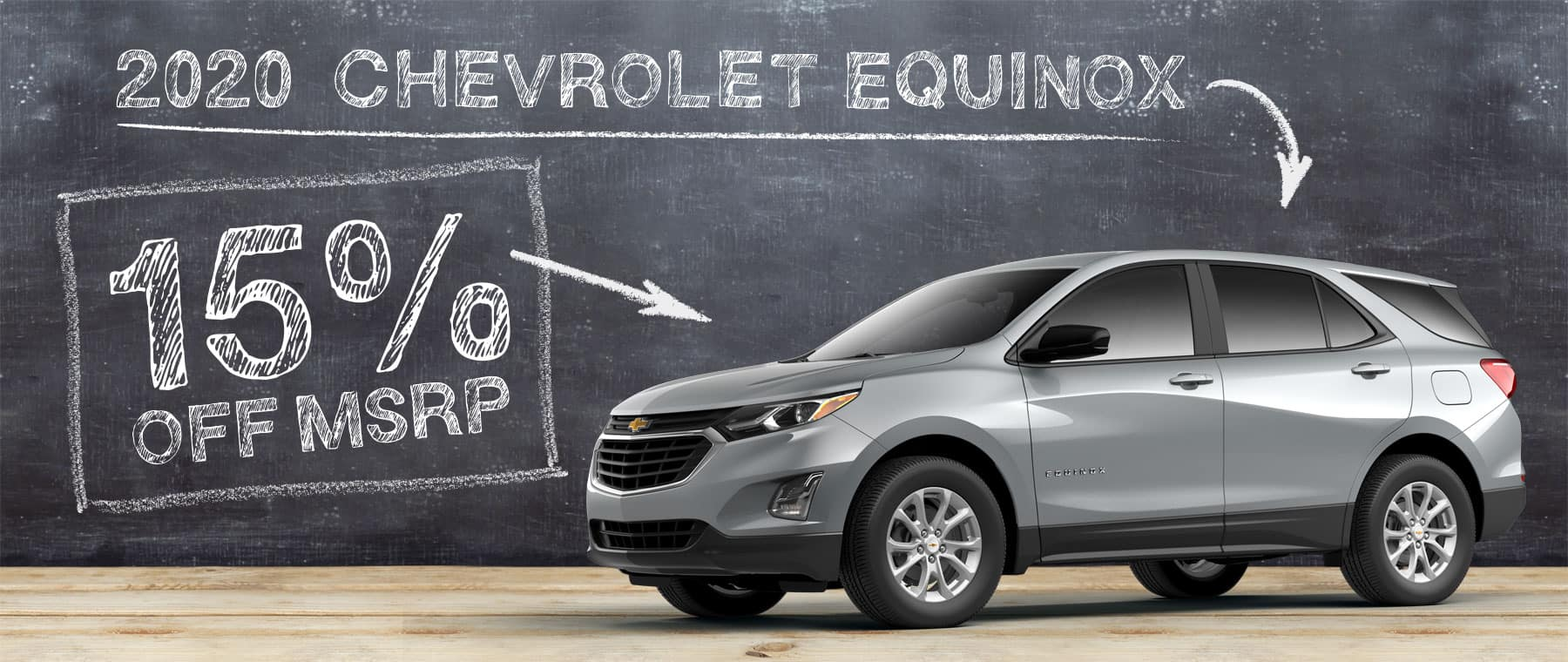 2020 Chevrolet Equinox - 15% off MSRP
