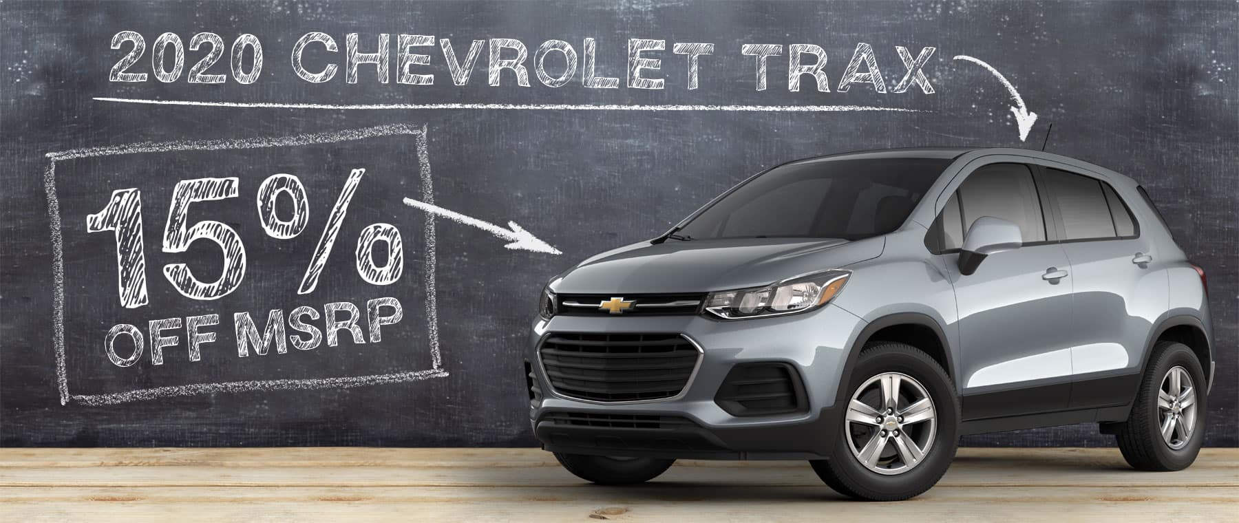 15% off 2020 Chevrolet Trax