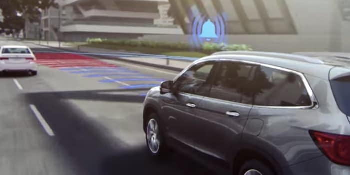 Honda Collision Mitigation Braking System Feature