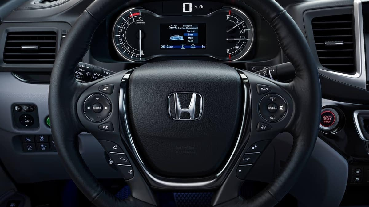 2019 Honda Ridgeline steering wheel