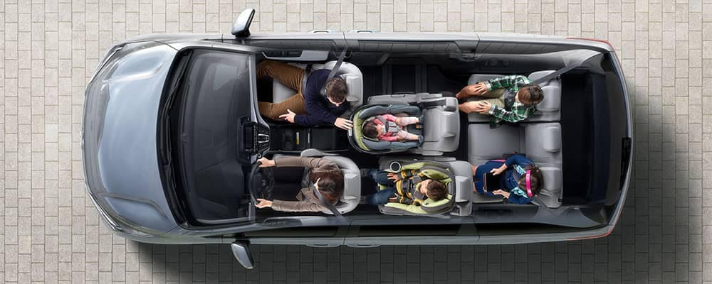 2019 Honda Odyssey Interior Overview from Above