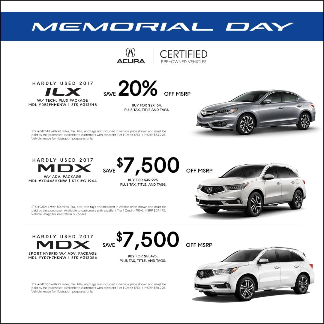 Memorial Day Car Sales 2017 >> Memorial Day