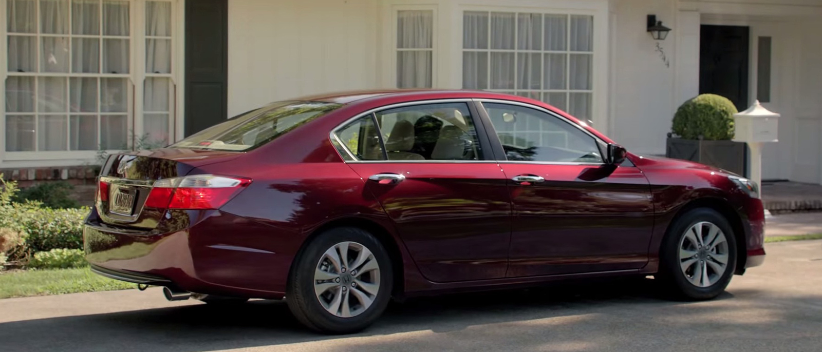 2015 Honda Accord Exterior Side Rear