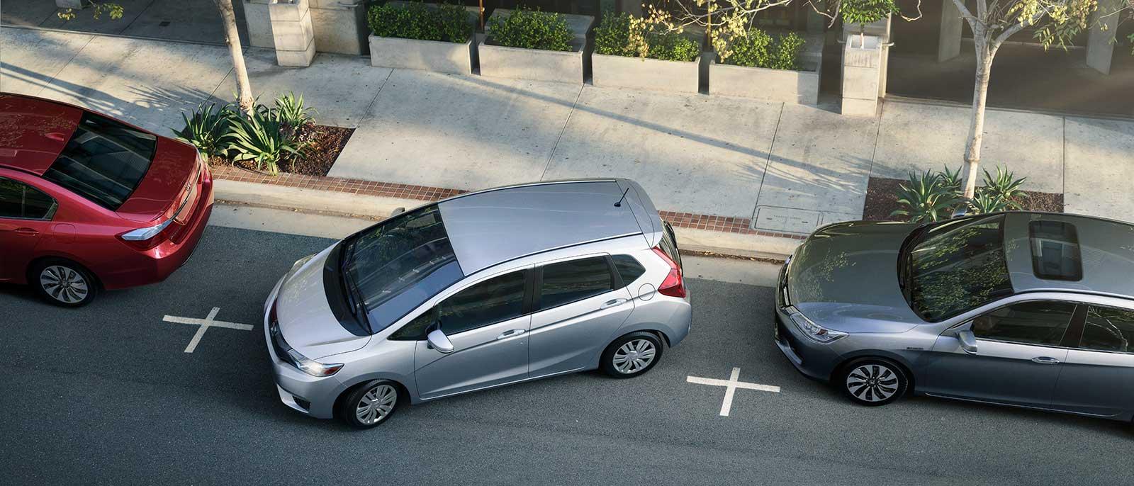 2015 Honda Fit Compact Parking