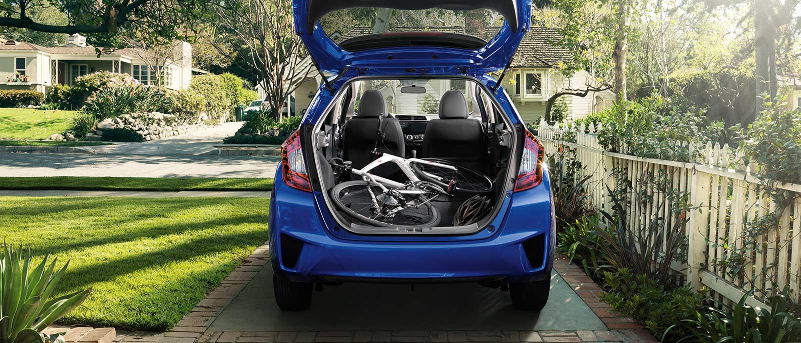 2015 Honda Fit Rear Cargo