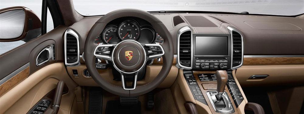2016 Porsche Cayenne Interior Offers Prime Luxury Features