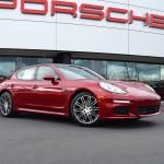 Porsche Fremont Goes Red