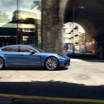 Blue 2017 Porsche Panamera