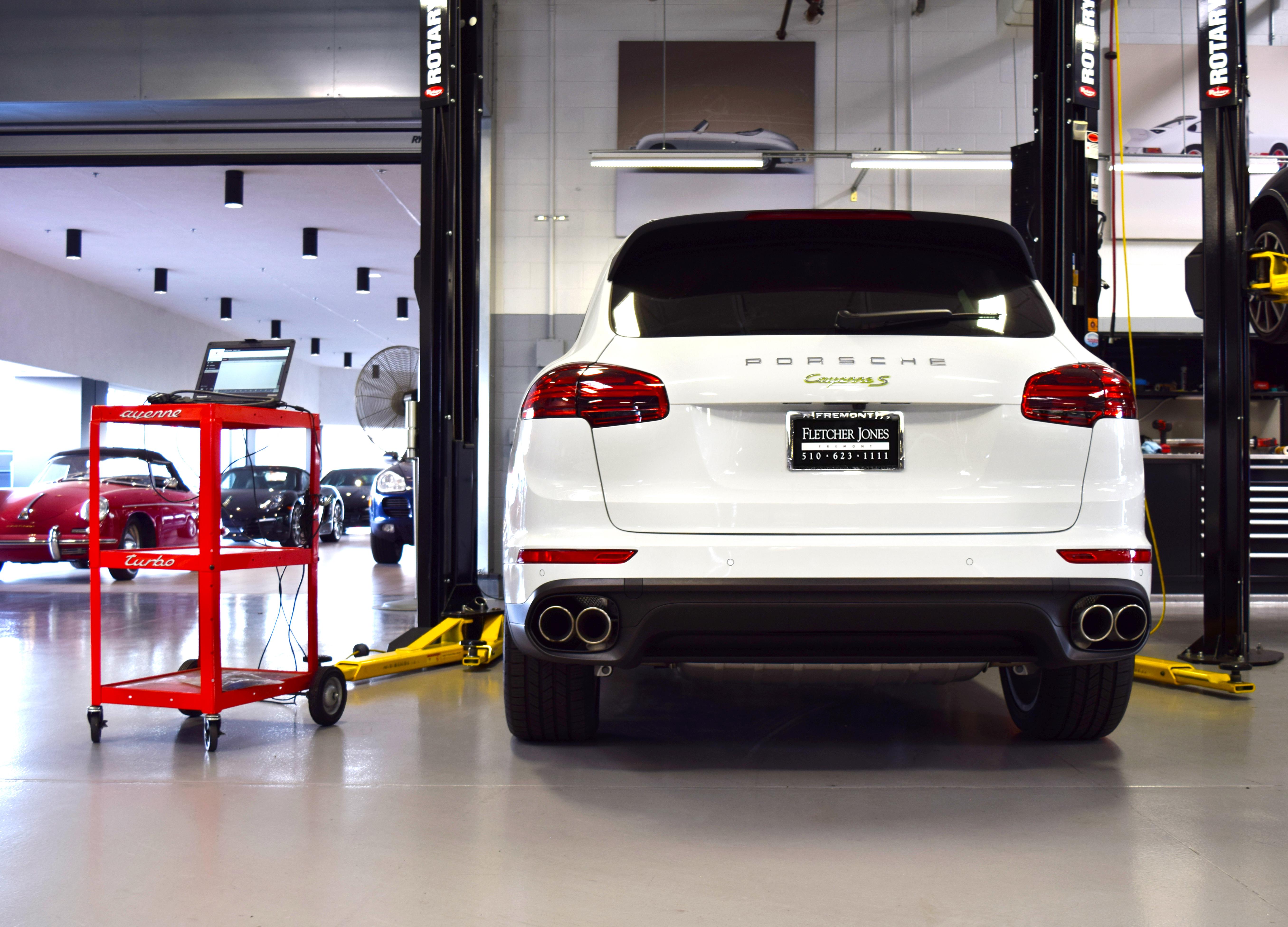 Porsche Fremont White Porsche Cayenne