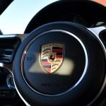 Porsche of Fremont Fletcher Jones 2017 steering wheel and logo