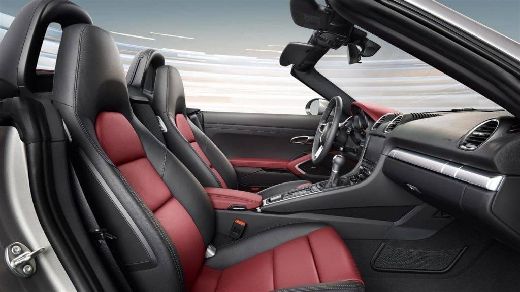 718 Boxster Interior