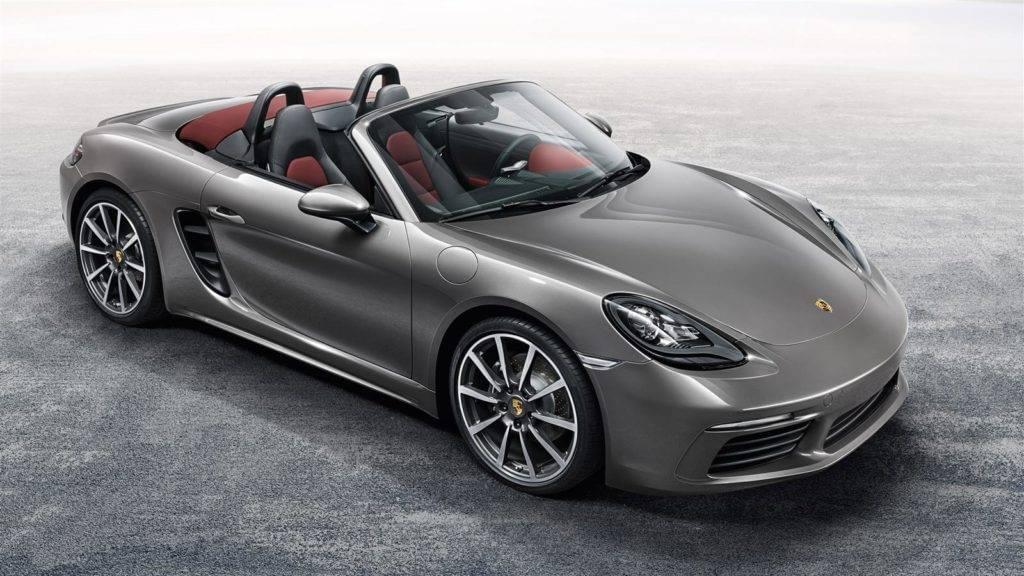 718 Boxster Parked