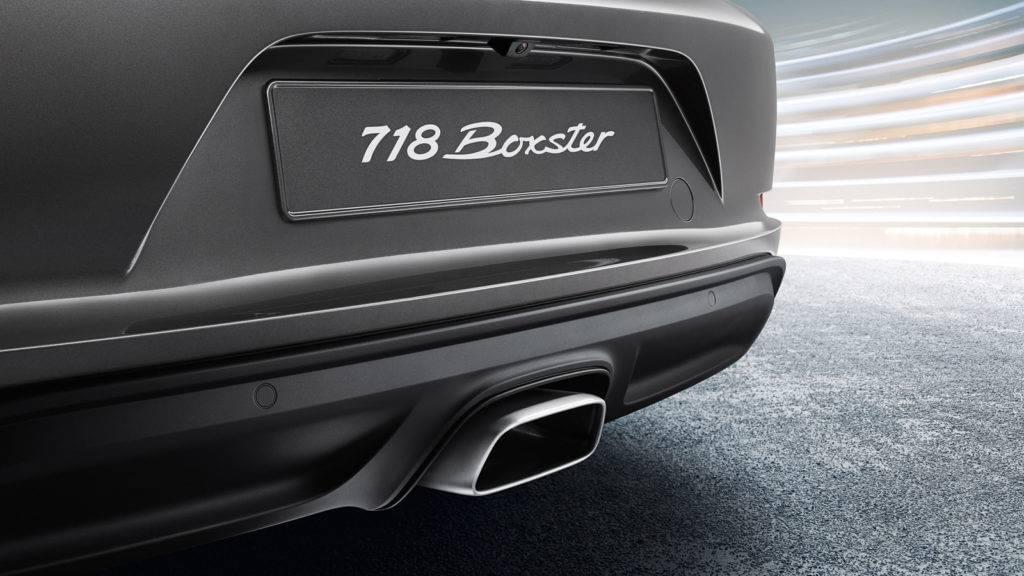 718 Boxster Tailpipes