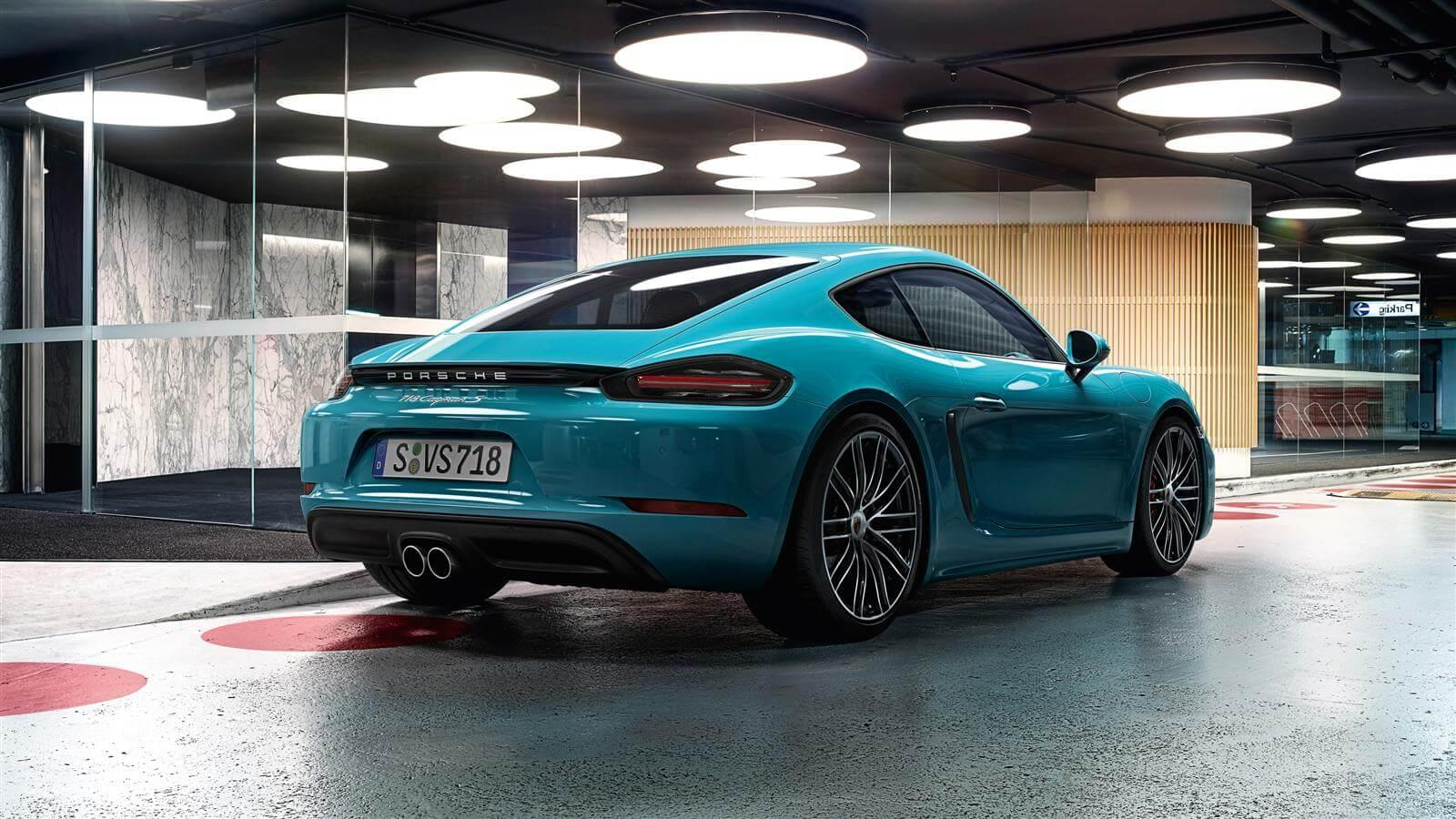 Cayman S back