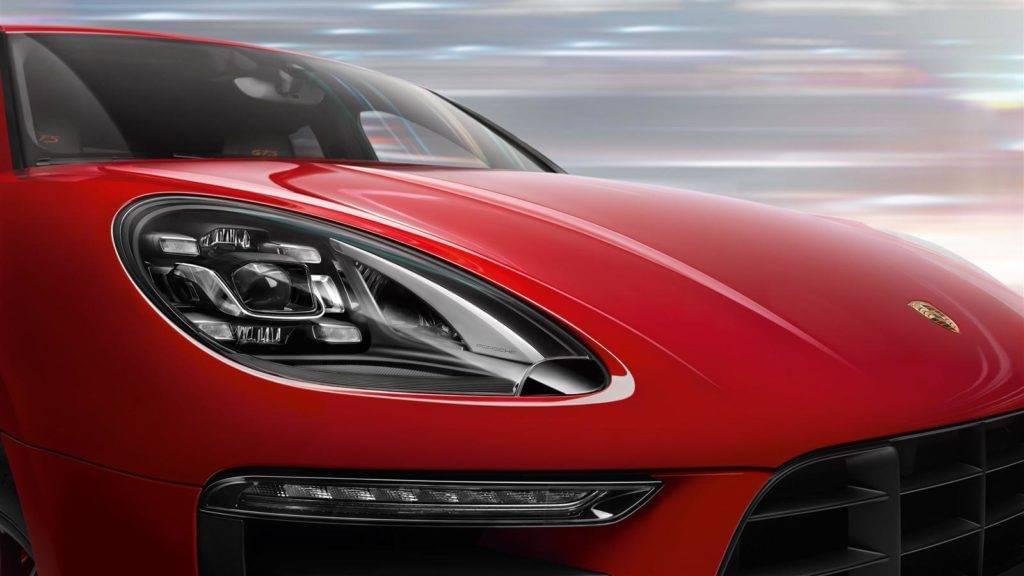 Porsche Macan GTS headlight