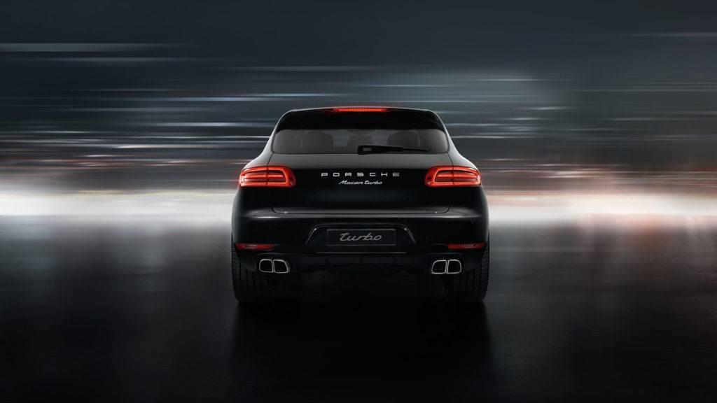 Macan Turbo Tailpipes