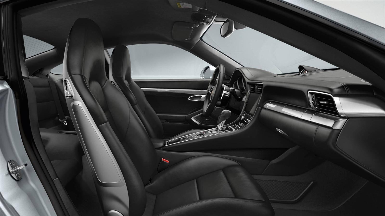 Porsche Turbo S Interior