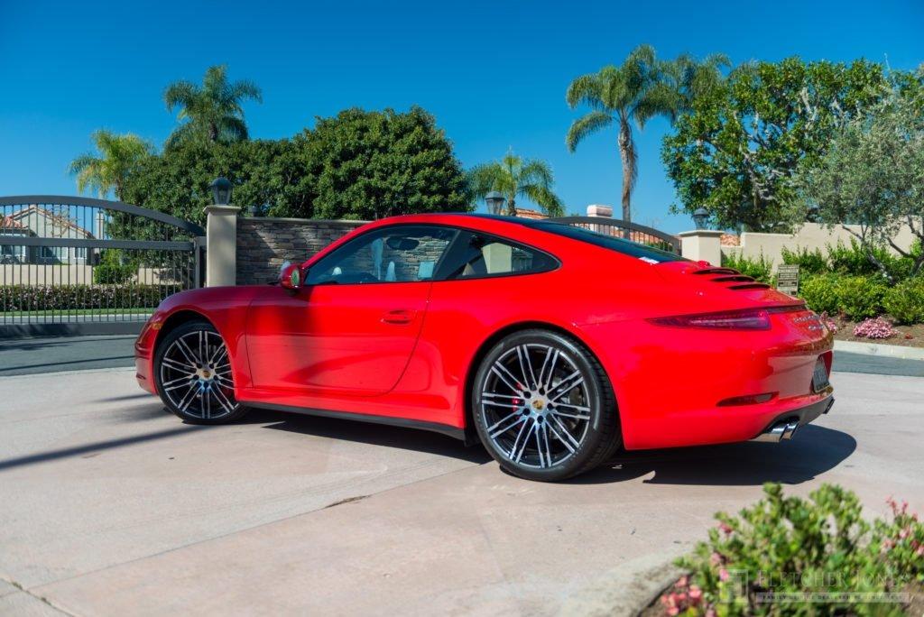 Red Porsche