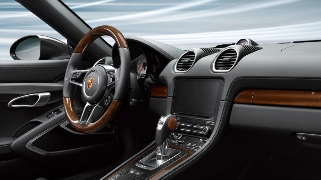 Porsche 718 Interior
