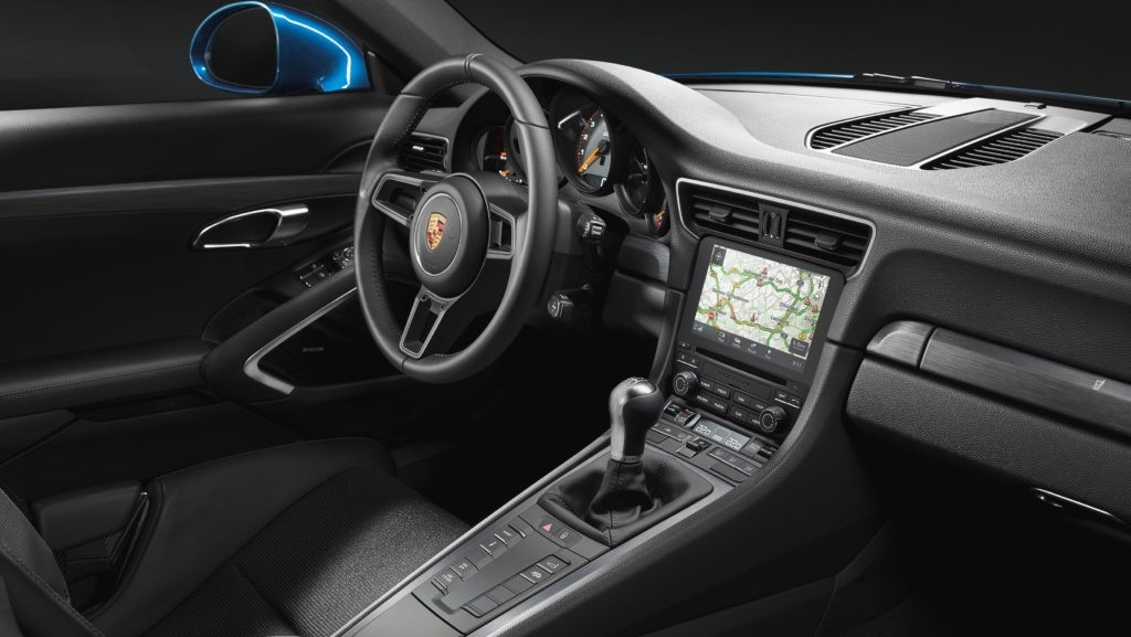 911 GT3 with Touring Package Interior