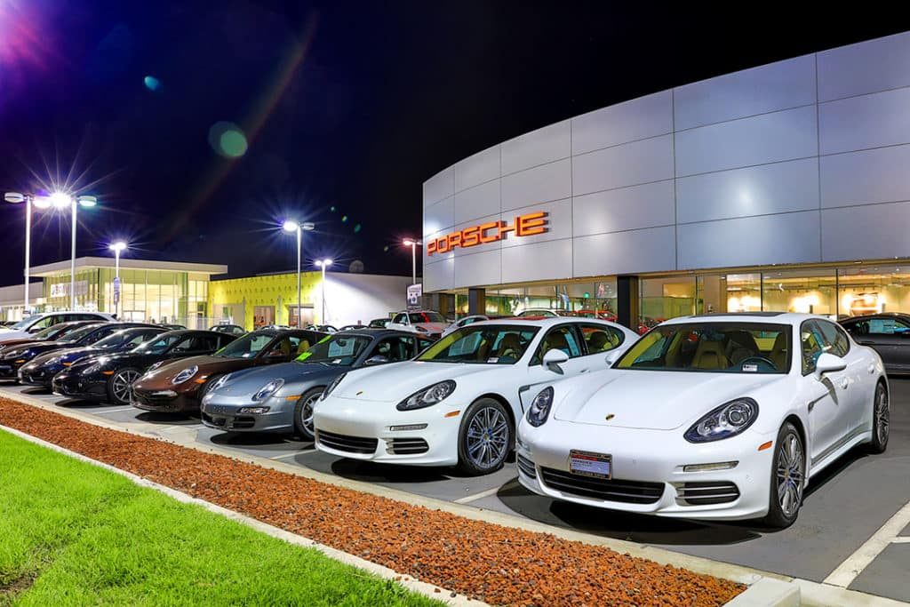 Porsche Dealership