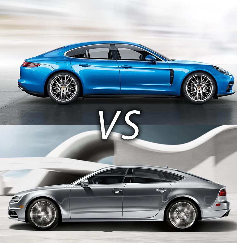 Dare To Compare: 2018 Porsche Panamera Vs 2018 Audi A7