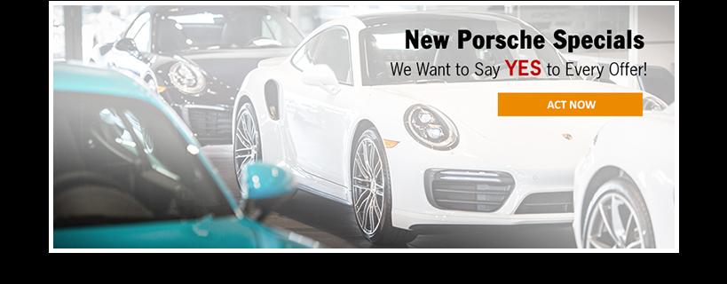 New Porsche Specials