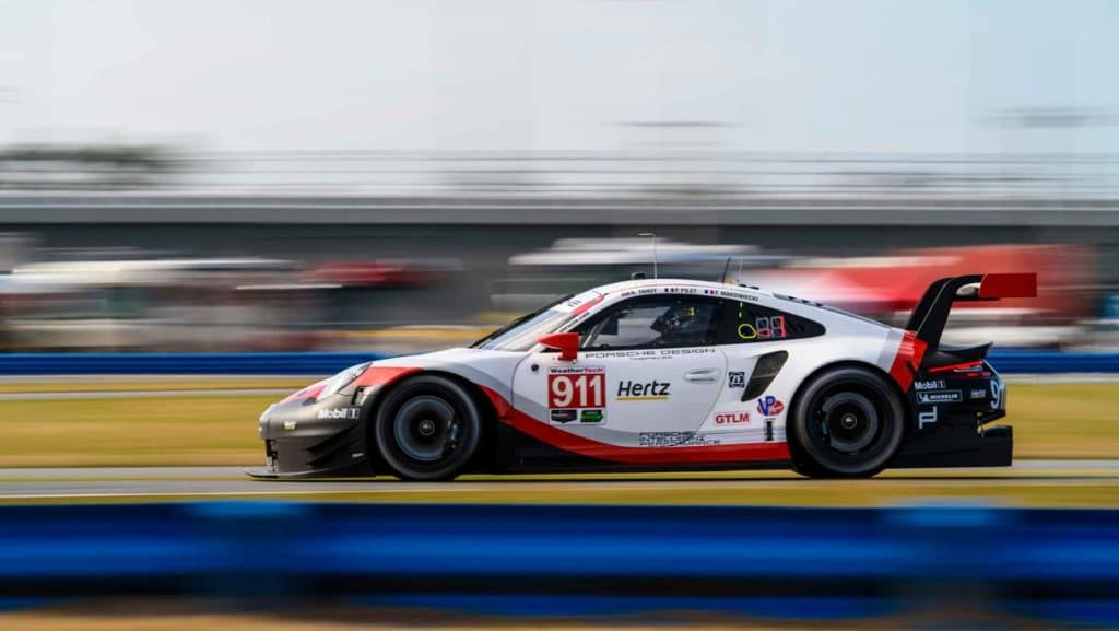 Porsche 24 hours at Daytona international speedway