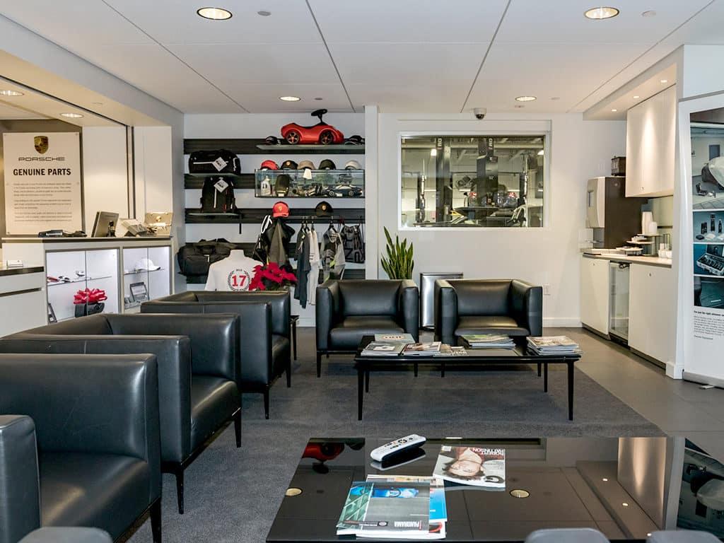 Porsche Fremont Lounge