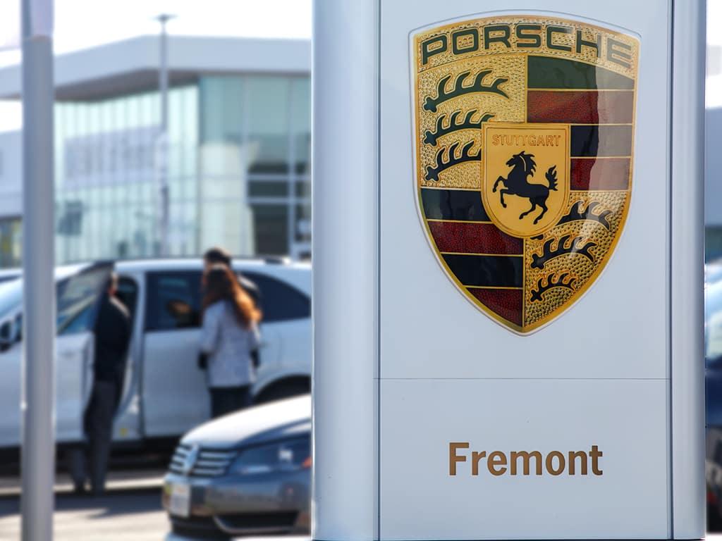 Porsche Fremont Sign