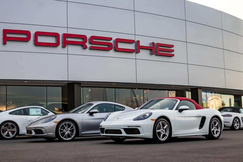 718 Porsche Cayman and Boxter